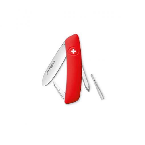 Swiza D02 Zwitsers Kinderzakmes Red