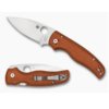 Spyderco Shaman Burnt Orange REX 45